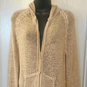 BCBG MAXAZRIA cardigan sweater Size L NWOT